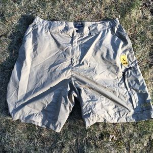 Nautica Competition AVP Shorts Tan Large